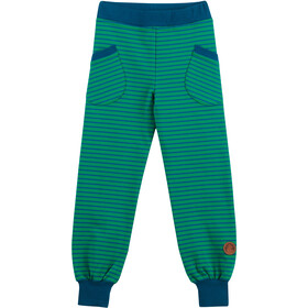 Finkid Huvi Leggings Niños, leaf/seaport